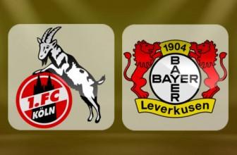 18.03.2018 Bundesliga – Köln vs. Leverkusen